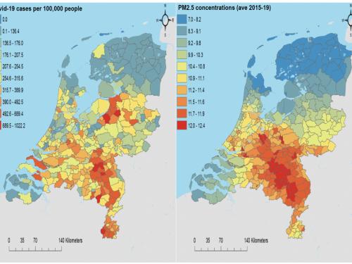 Esposizione all'inquinamento atmosferico legata a casi e decessi più elevati di COVID-19 – nuovo studio